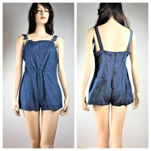 Vng 40's Hand Made Romper shorts - Over all Shorts